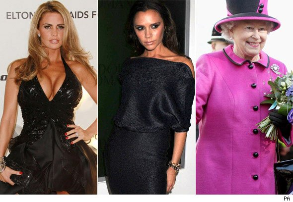 celeb mum of the year, katie Price, Victoria Beckham, The Queen