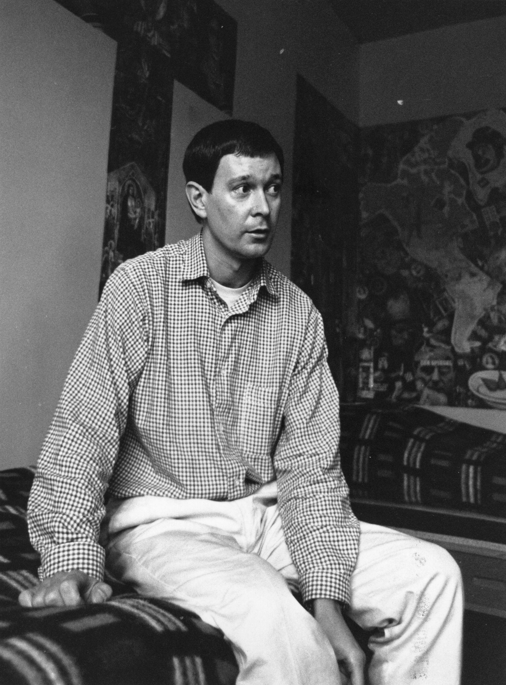 Playwright Joe Orton in Entertaining Mr Sloane