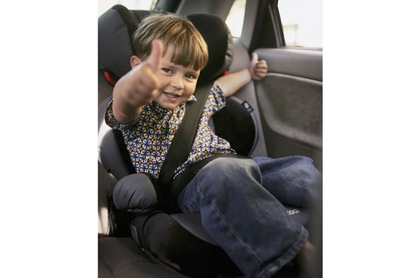 Car seats for older children