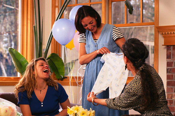 Baby Shower. Stock Photo