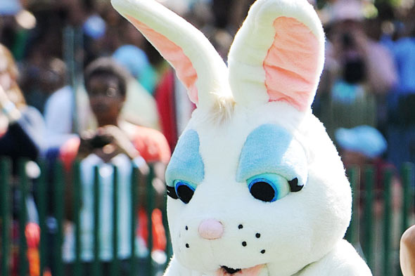 Terrible Twos: The big bad Easter bunny