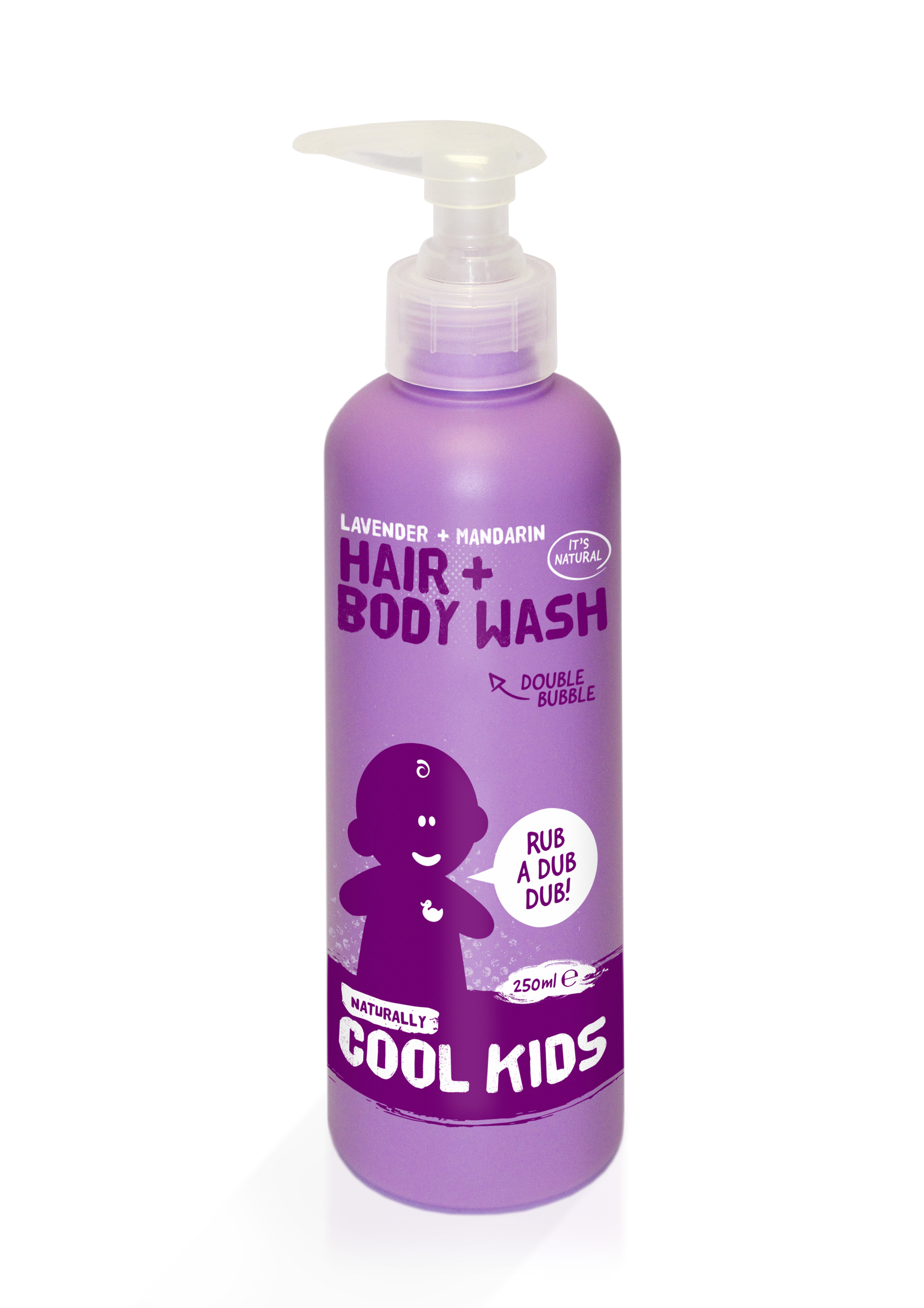 New Naturally Cool Kids Lavender and Mandarin Body Wash