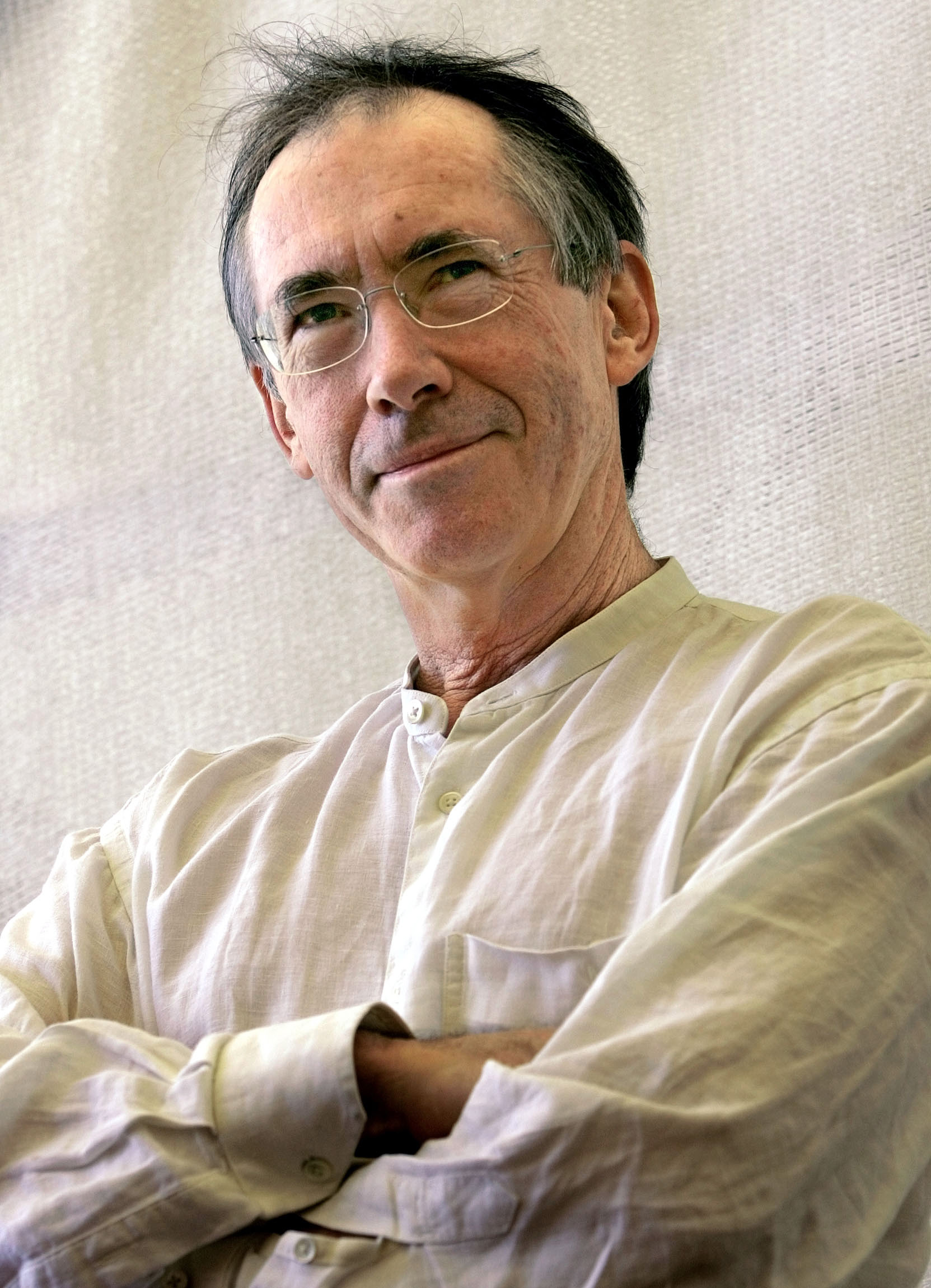 Writer Ian McEwan in his novel Black Dogs