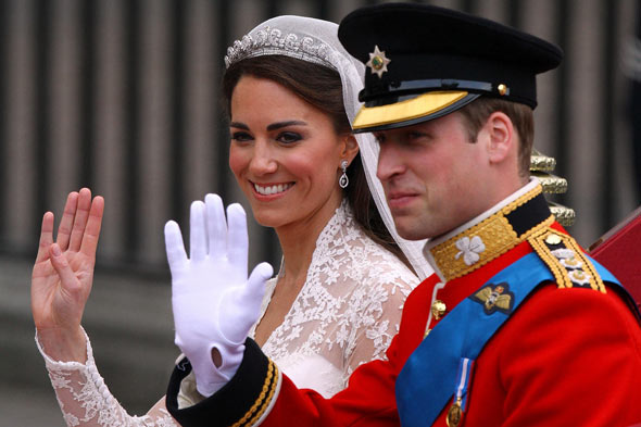 Royal Wedding: Kate Middleton and Prince William are married