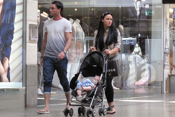 Chanelle Hayes takes baby Blakely to seaside - with Jack Tweed