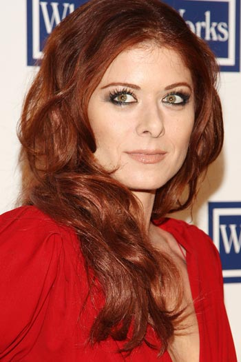 Debra Messing: Exhaustion