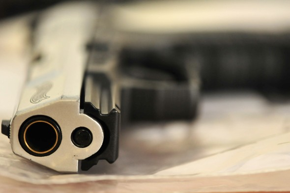 Seven-year-olds reprimanded for gun mime game