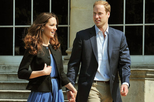 Kate, the Duchess of Cambridge, will be pregnant in first year of marriage, predict a quarter of Brits
