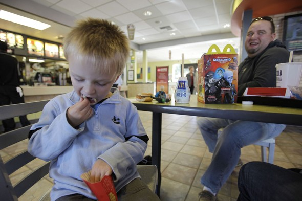 McDonalds Happy Meals - medics say BAN them