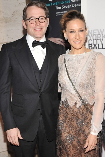 Sarah Jessica Parker and Matthew Broderick