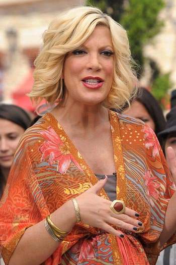 Tori Spelling: Morning sickness