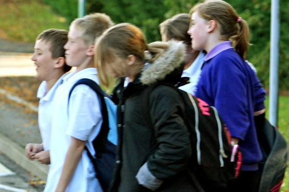 Should my ten-year-old walk to school alone?