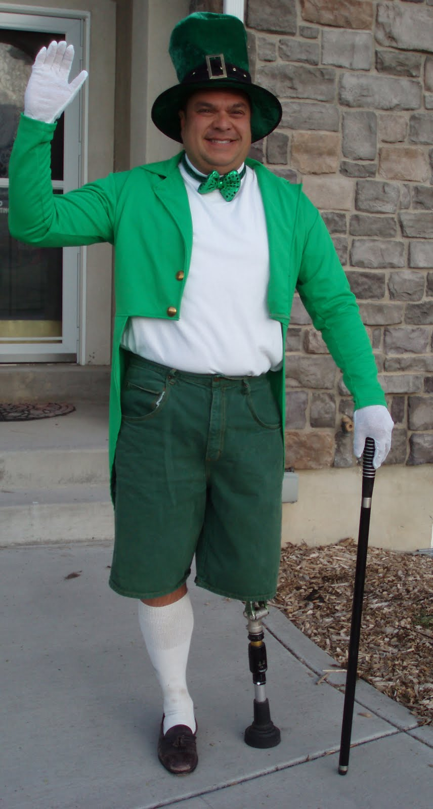 Dale as a ...leprechaun