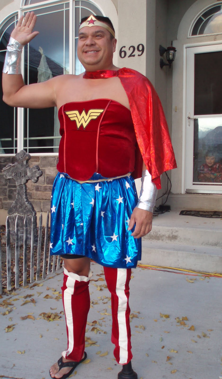 Dale as...Wonderwoman