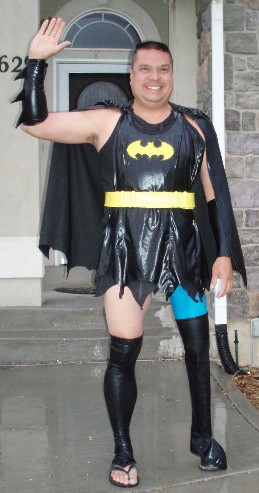 Dale as...Batgirl