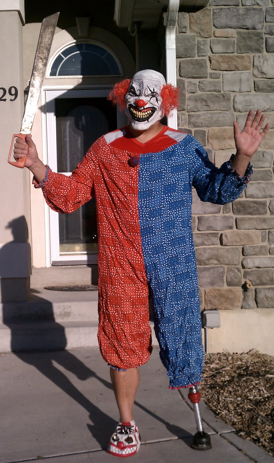 Dale as...a truely terrifying clown