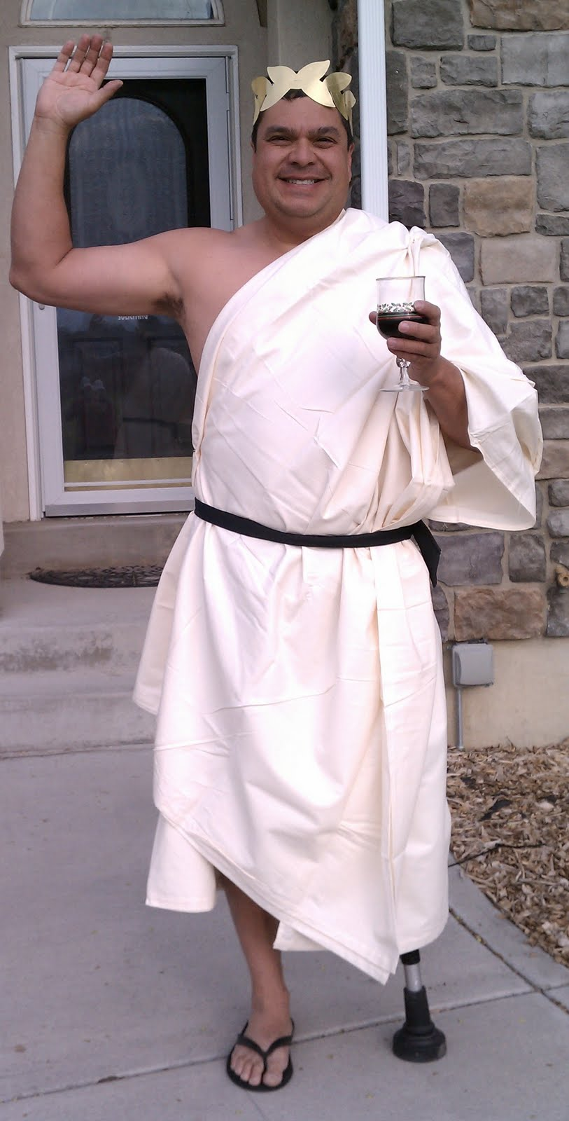 Dale...in a toga