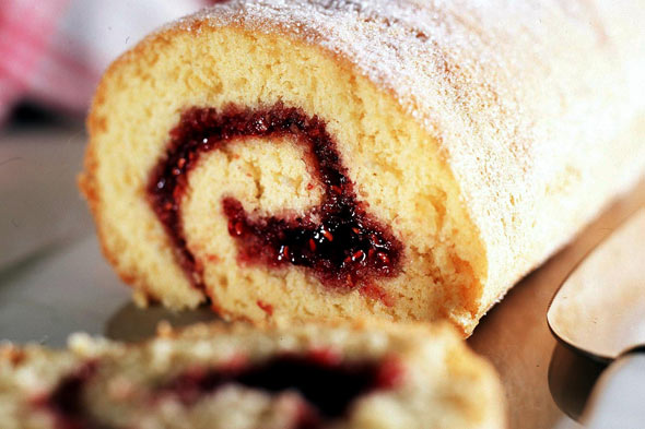 Cooking with kids: Swiss roll