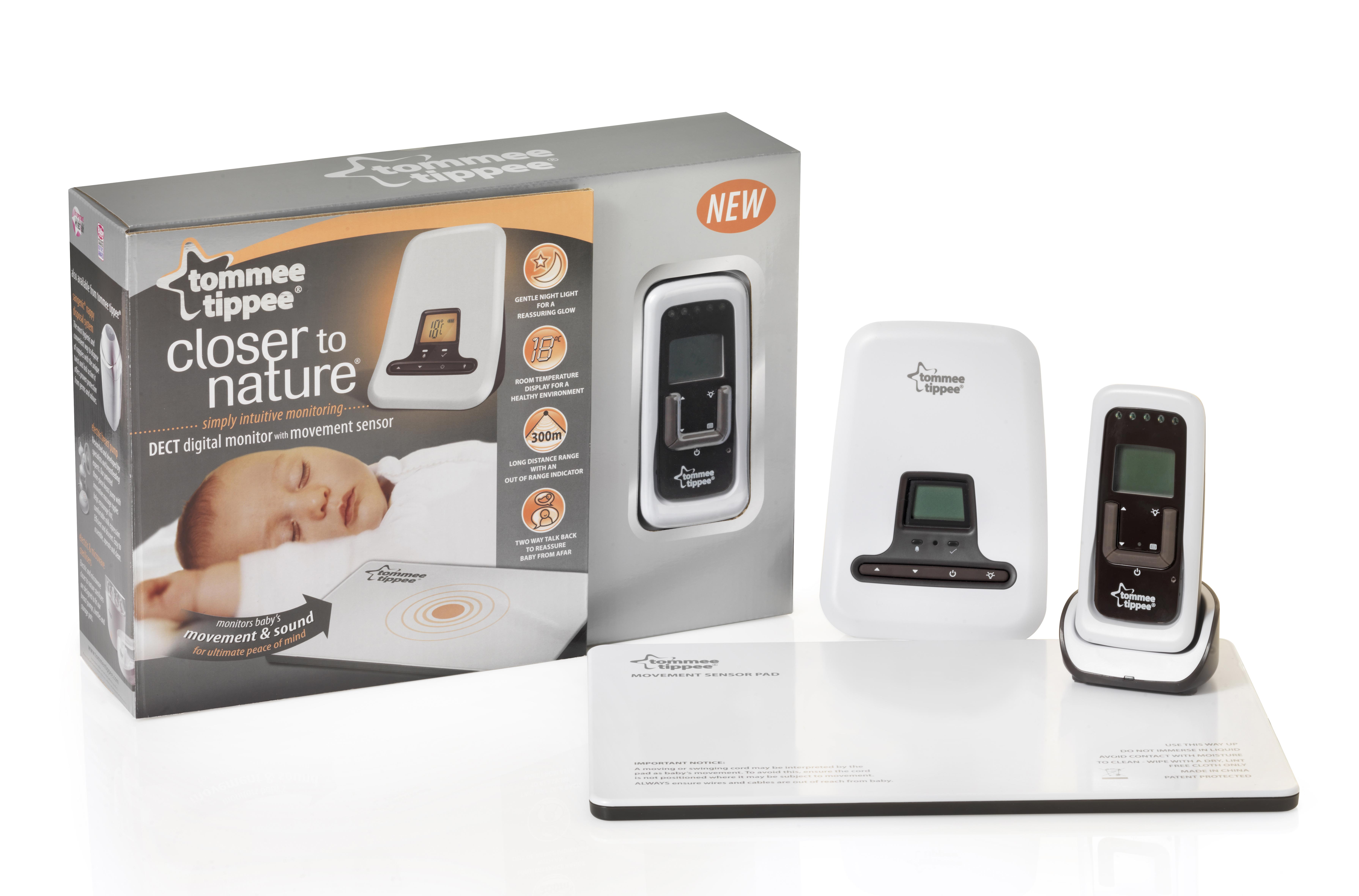 Tommee Tippee DECT Digital Movement & Sound Monitor