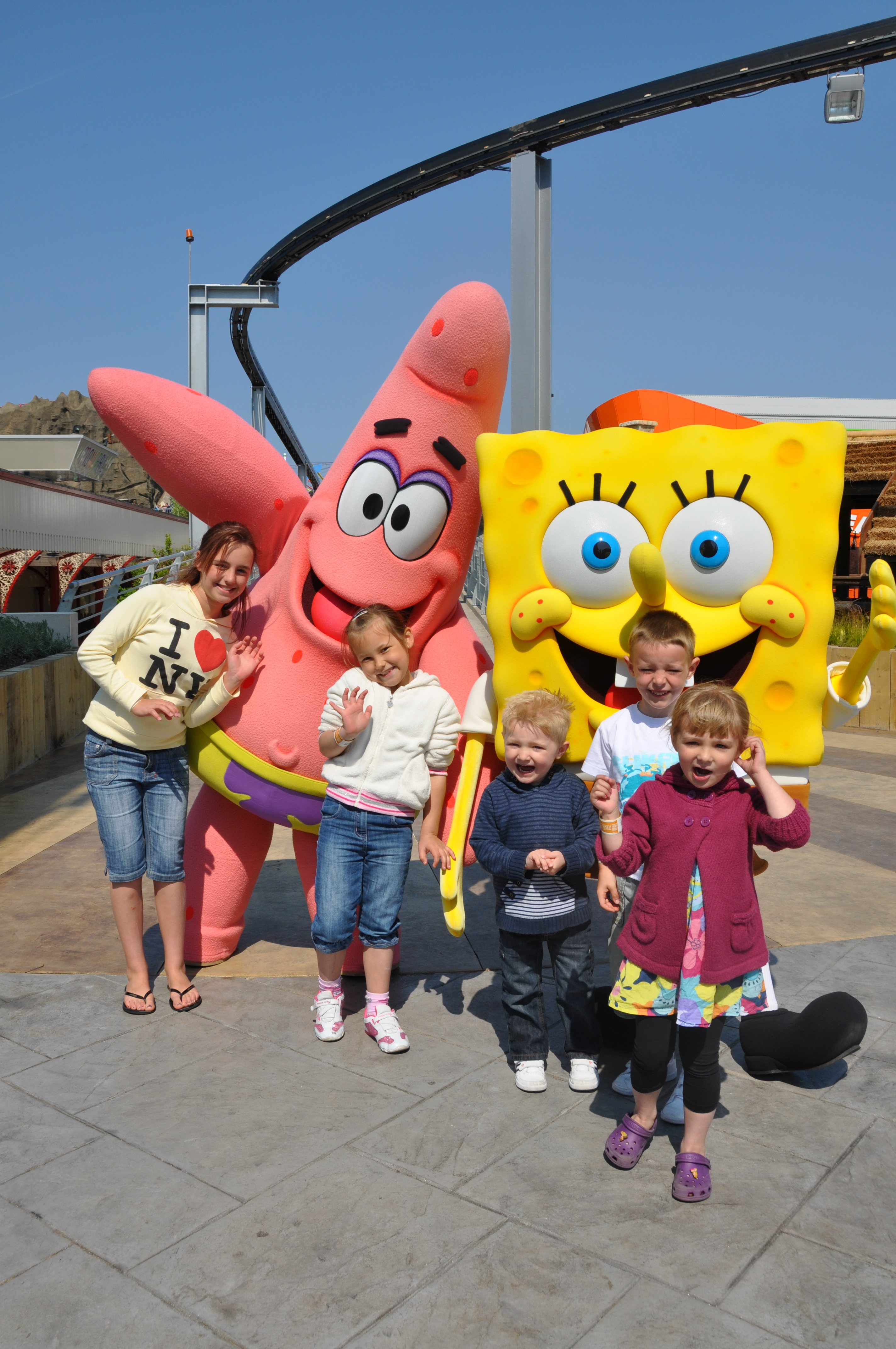 Nickelodeon Land at Pleasure Beach