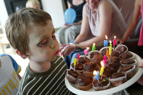 Why I won't be throwing a party for my son's fourth birthday