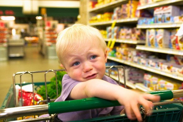 If it stops a tantrum, the lady at the checkout won't mind