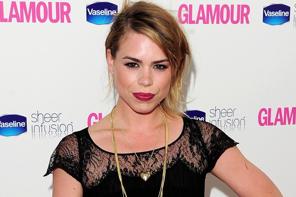 Billie Piper, mum to Winston