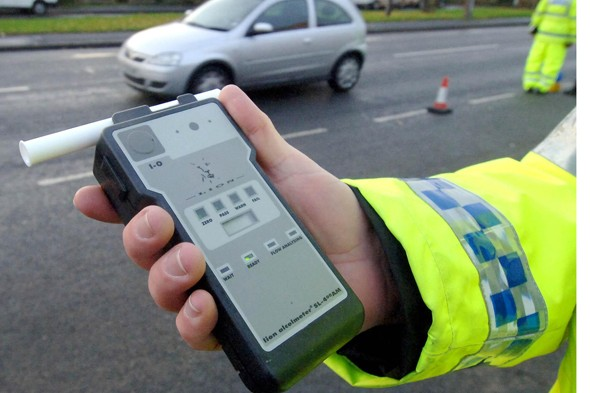 School run mum was four times over the drink drive limit.
