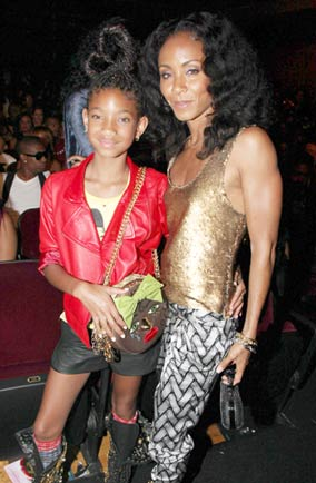 Jada Smith and Willow