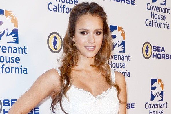 Jessica Alba, mum to Honor and Haven