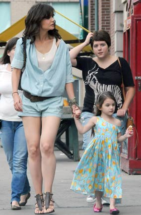 Katie Holmes and Suri