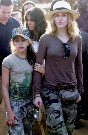 Madonna and Lourdes