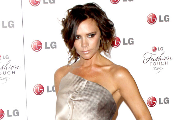 Super-skinny Victoria Beckham spotted for the first time since welcoming Harper Seven