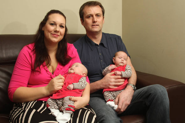 Twins after nine years, £70,000 on fertility treatment and travelling 16,000 miles