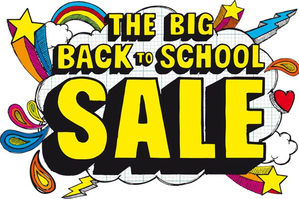 WHSmith big back to school sale