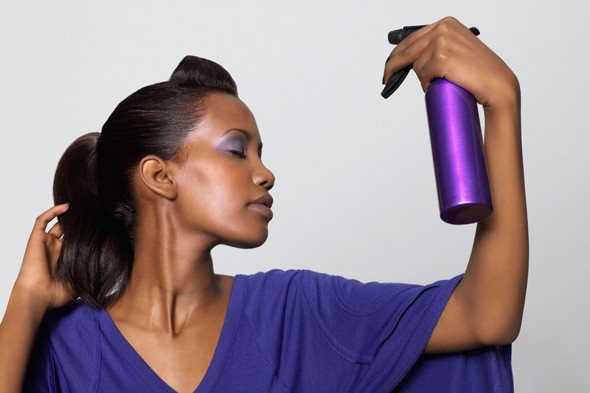 Dry shampoo will buy you an extra hour a week