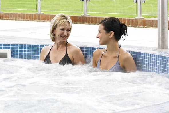 Women relaxing at Champneys