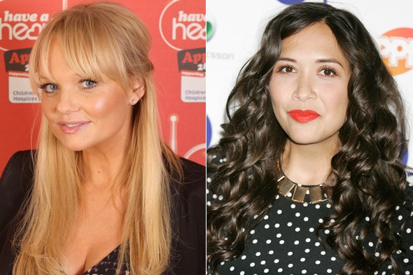 Myleene Klass and Emma Bunton's children start school