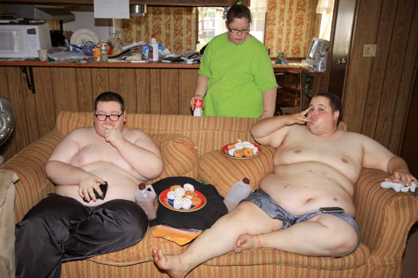 Cynthia Williams feeds her overweight sons