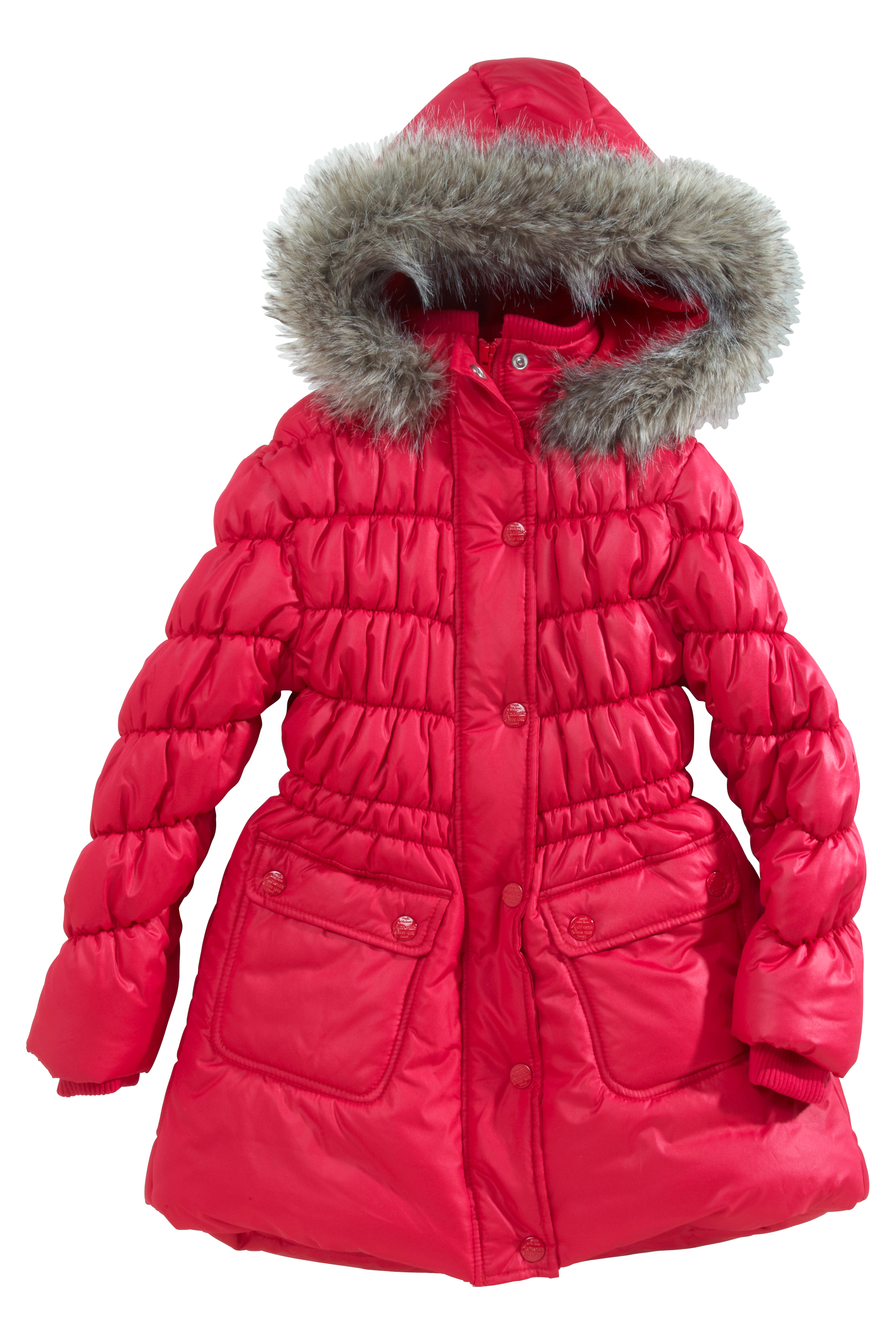 Next Long Hooded Padded Jacket