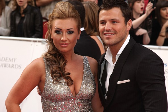 Lauren Goodger and Mark Wright from The Only Way is Essex