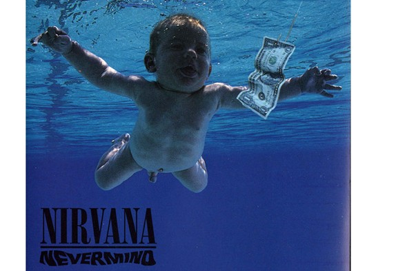Nirvana Nevermind baby album cover