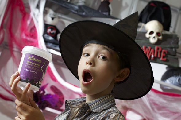 Meet the boy living every child's dream - by having his own ice cream flavour!