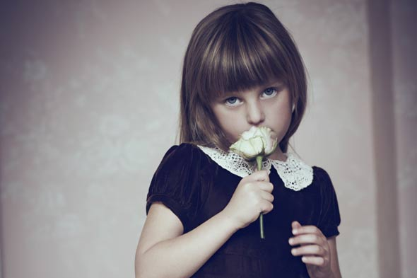 Pearl Lowe's daughter Betty models mum's kidswear range