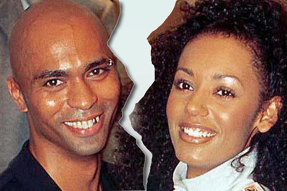 Mel B and Jimmy Gulzar