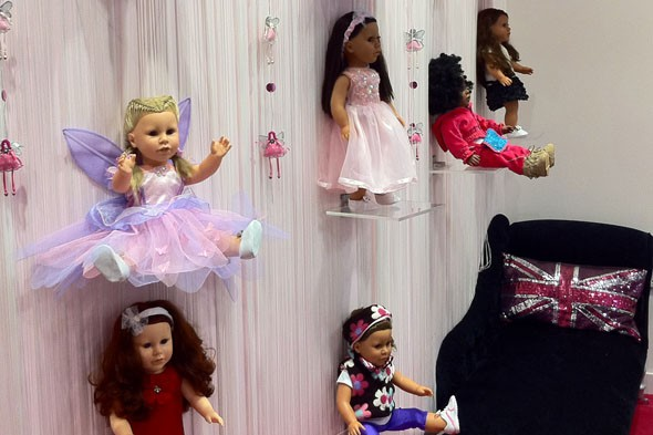My London Girl, Westfield: Uk's first doll boutique