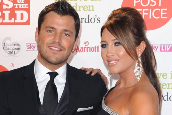 TOWIE's Mark Wright and Lauren Goodger
