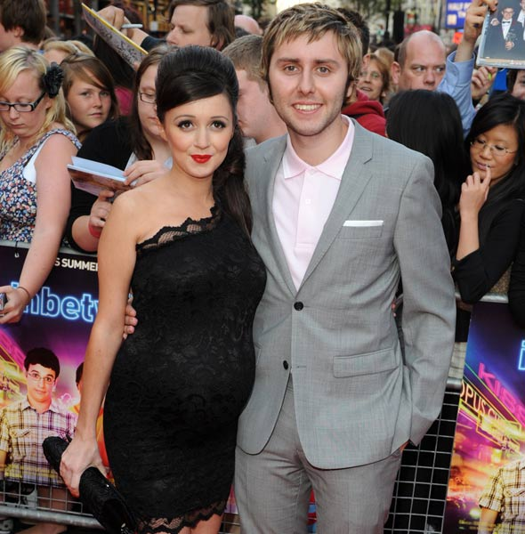 Inbetweeners star James Buckley becomes a dad