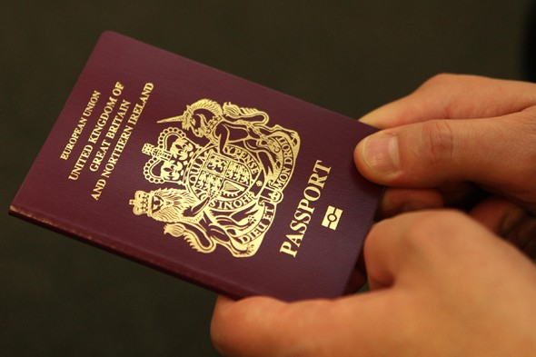 Holding a British passport