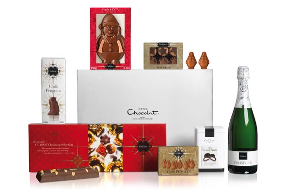 Hotel Chocolat Christmas Pamper Hamper